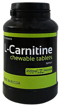 Жиросжигатель L-карнитин XXI Power 90 жевательных таблеток