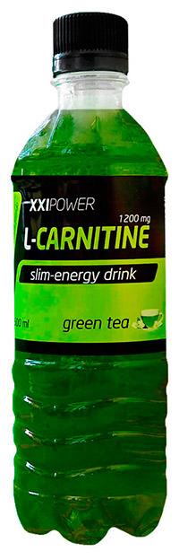 Спортивный напиток L-карнитин XXI Power без газа - Зеленый чай с жасмином, 500 мл
