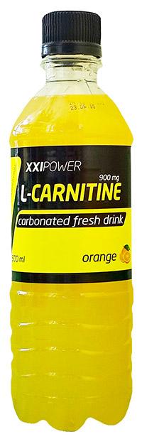 Спортивный напиток L-карнитин XXI Power газированный - Апельсин, 500 мл