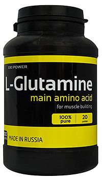 Аминокислота L-глютамин XXI Power 100 грамм