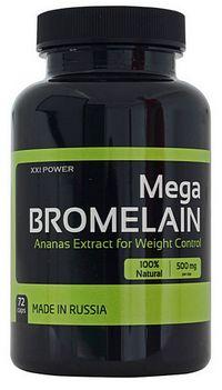 Жиросжигатель Mega Bromelain XXI Power 72 капсулы