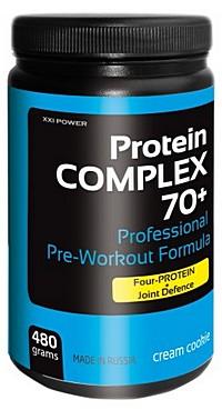 Протеиновая смесь Protein Complex 70+ XXI Power 480 грамм