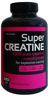 Супер Креатин XXI Power 200 капсул