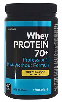 Whey Protein 70+ XXI Power 480 грамм